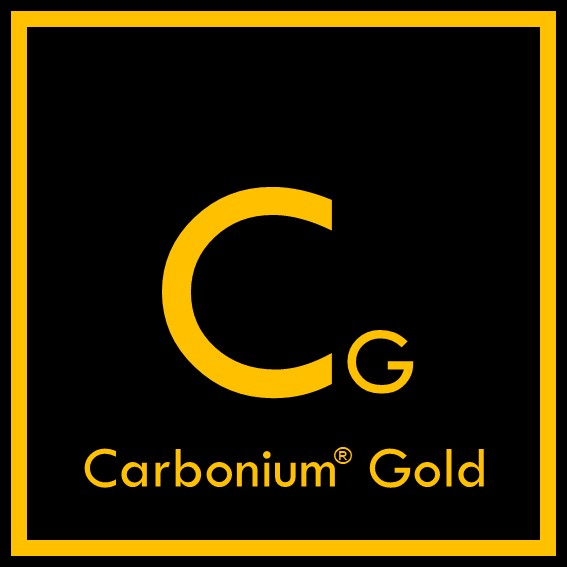 Logo Carbonium Gold - Lavoisier Composites