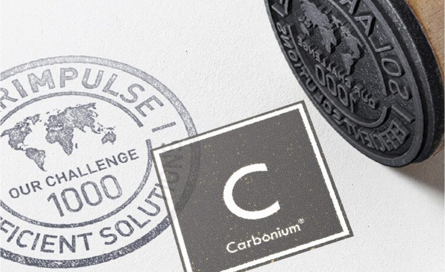 Carbonium® part of the 1000 Solutions to protect the environment